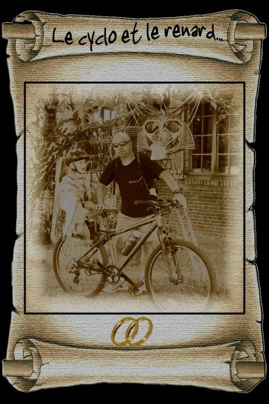Le cyclo et le renard