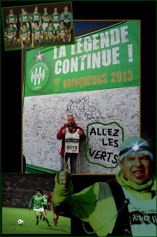 La SaintéLyon 2013 ==) Running Raid Nocturne ... ==) épisode 2 (==