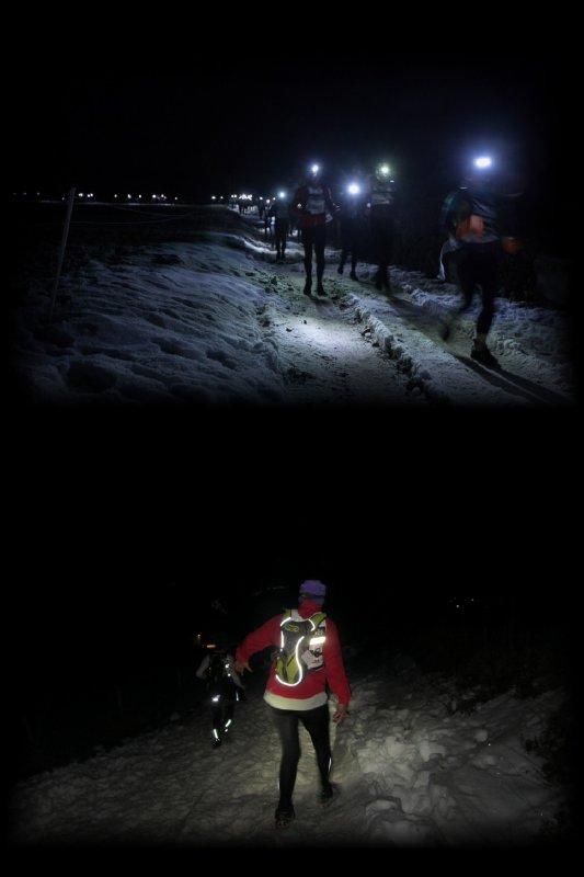 La SaintéLyon 2013 ==) Running Raid Nocturne ... ==) épisode 3 (==