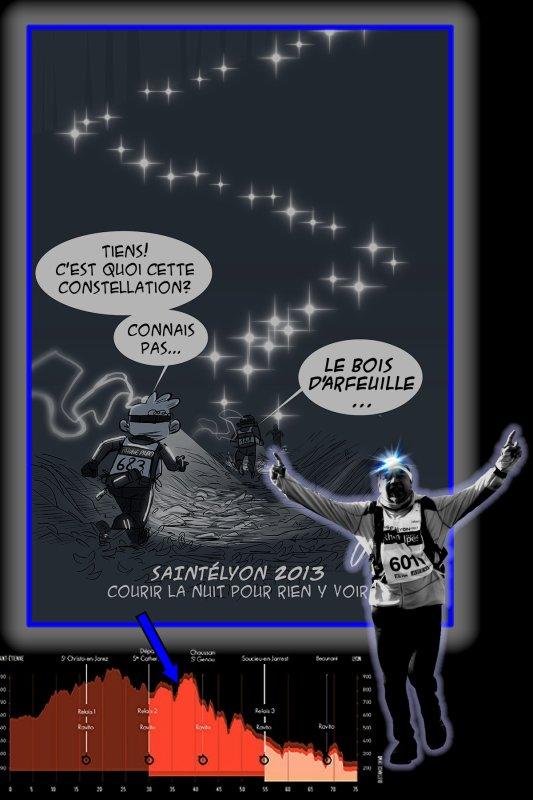 La SaintéLyon 2013 ==) Running Raid Nocturne ... ==) épisode 4 (==