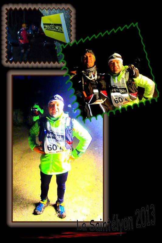 La SaintéLyon 2013 ==) Running Raid Nocturne ... ==) épisode 5 (==