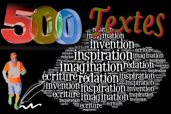 500 Textes ...