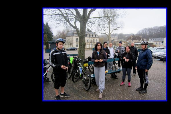 Rando Vélo vers Compiègne ....