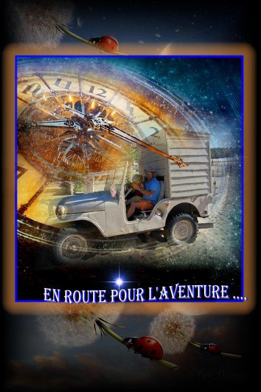 En route pour l'aventure ..épisode 1..