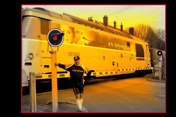 La course à pied, c'est comme les Voyages en train ....