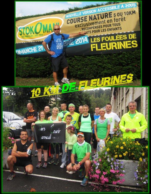 10 Km de Fleurines 2014 ...épisode 1