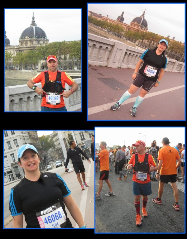 Marathon : Run in Lyon 2014 : la course 1
