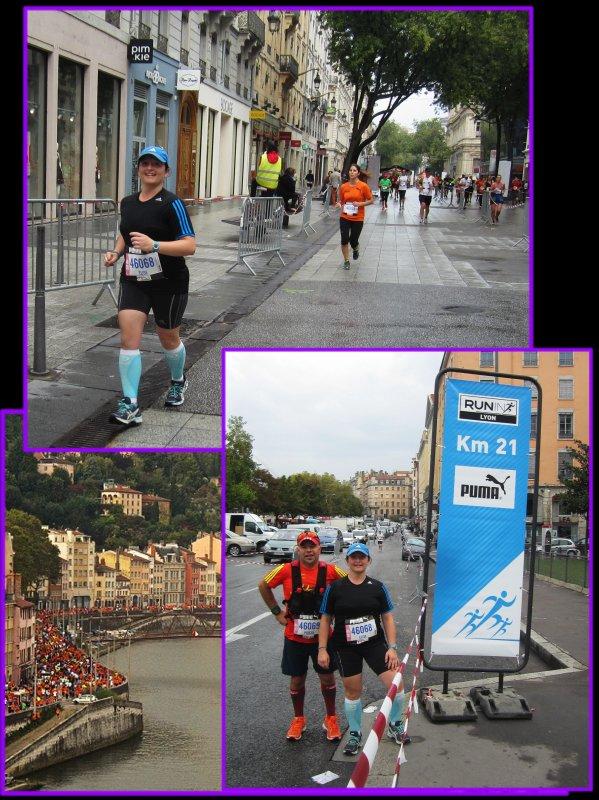 Marathon : Run in Lyon 2014 : la course 2