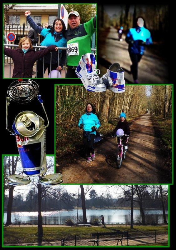 Foulées de Vincennes 2015 : LE FOOTING === Dimanche 8 février 2015
