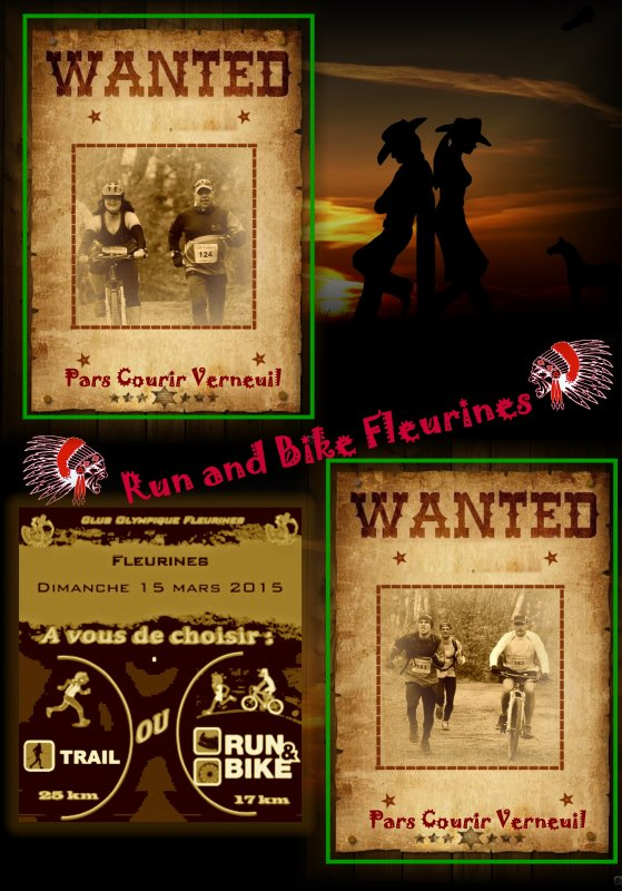 Run and Bike : Feurines 2015