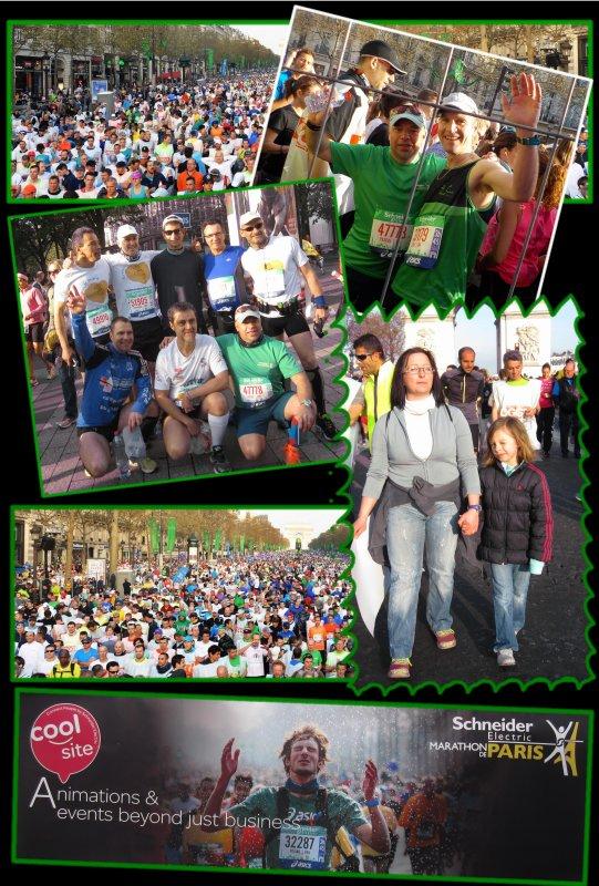 Marathon de Paris 2015 : 55ème marathon.épisode 1..