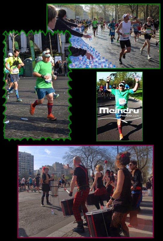 Marathon de Paris 2015 : 55ème marathon.épisode 2..