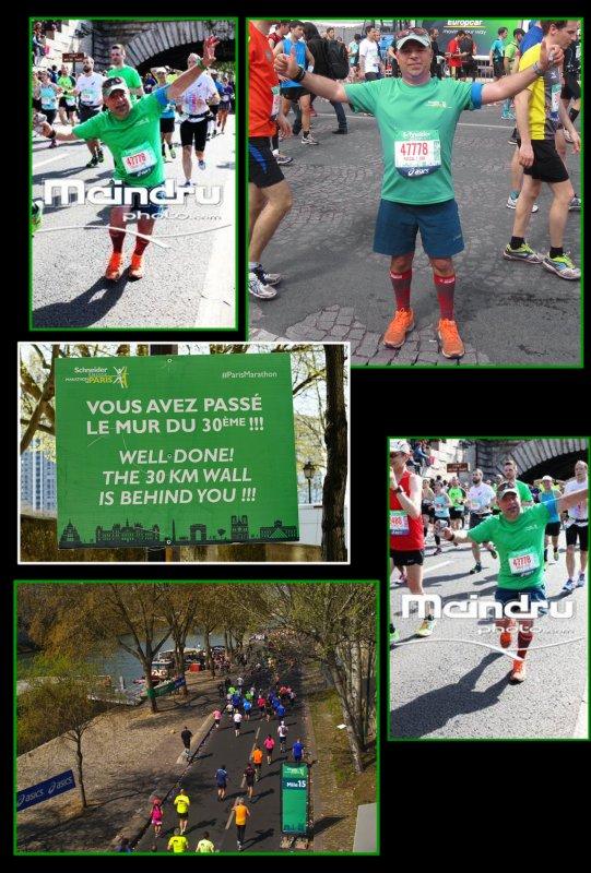 Marathon de Paris 2015 : 55ème marathon.épisode 3..