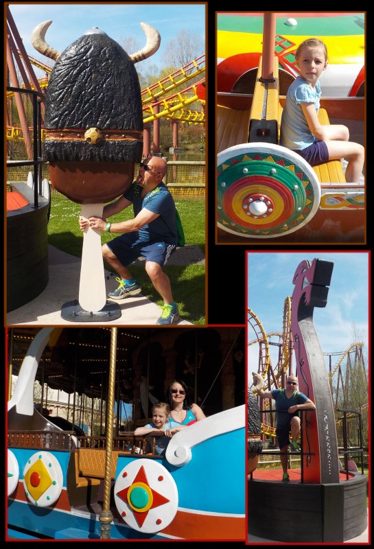 Les vikings au Parc Astérix ... épisode II ....