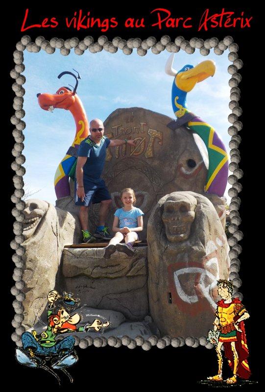 Les vikings au Parc Astérix ... épisode III ....