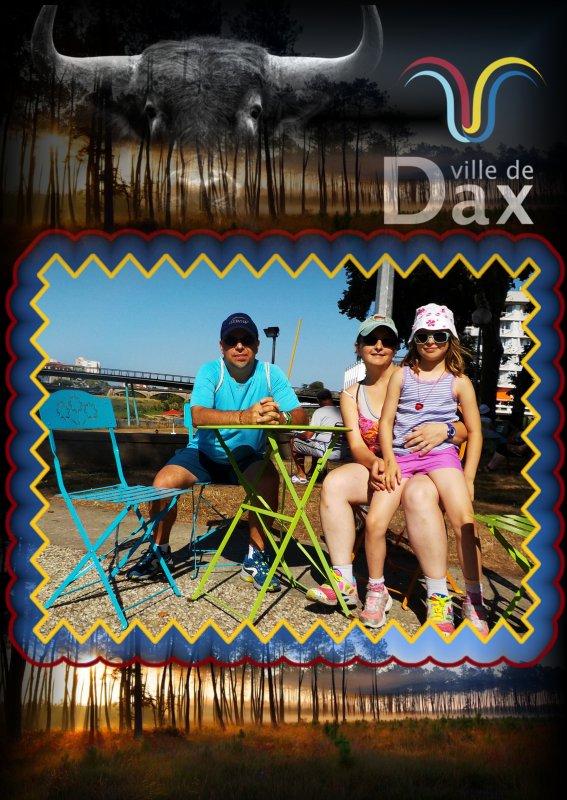 Seyresse dans les Landes, vacances 2015 : 1er jour