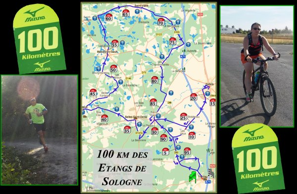 bientôt de retour... ce soir nous partons en Sologne pour les 100 km des étangs de Sologne.