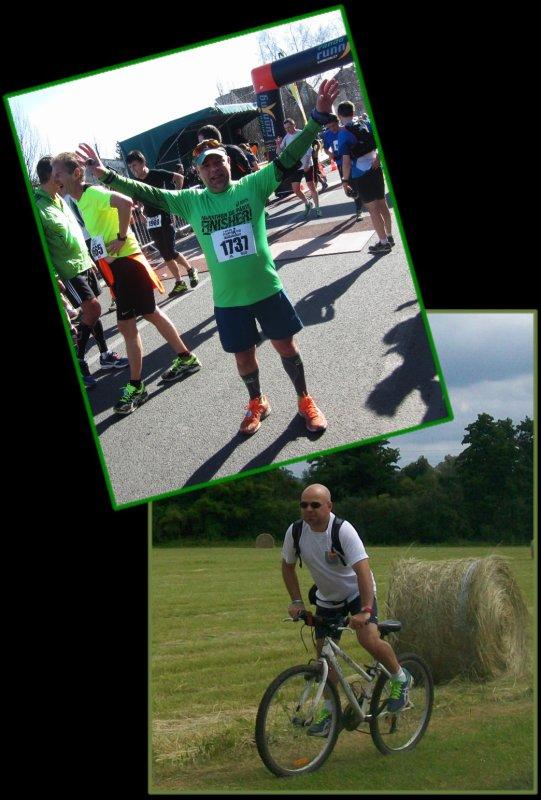 En Run and Bike, en Halatte ...
