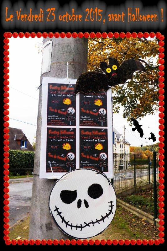 Le Vendredi 23 octobre 2015, avant Halloween !