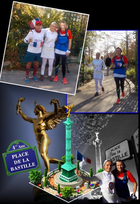 Footing Paris en Bleu, Blanc, Rouge ..épisode 1..