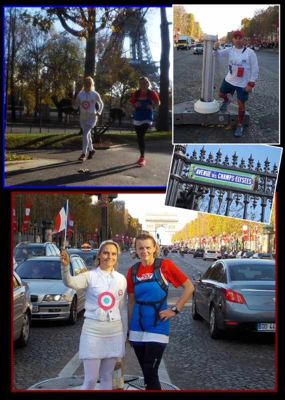 Footing Paris en Bleu, Blanc, Rouge ..épisode 2..