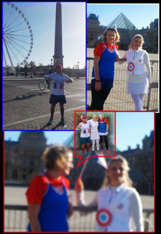 Footing Paris en Bleu, Blanc, Rouge ..épisode 3..