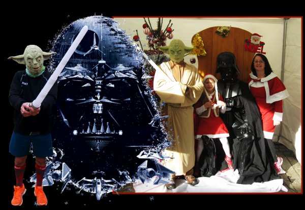 L'an 2015, Footing de Noël, le réveil de la force côtés illuminés ! ....