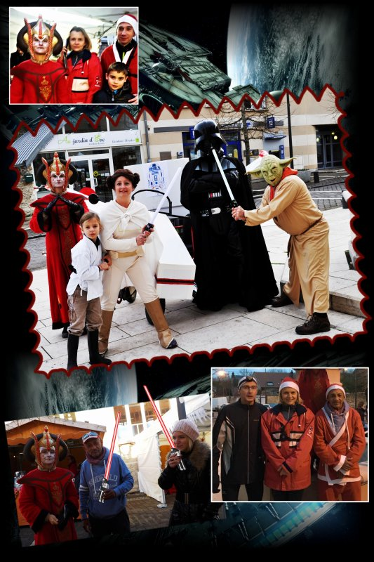L'an 2015, Footing de Noël, le réveil de la force côtés illuminés ! Épisode I