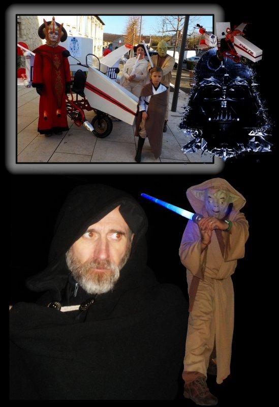 L'an 2015, Footing de Noël, le réveil de la force côtés illuminés ! Épisode II