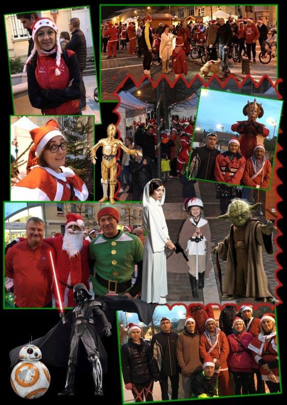 L'an 2015, Footing de Noël, le réveil de la force côtés illuminés ! Épisode III