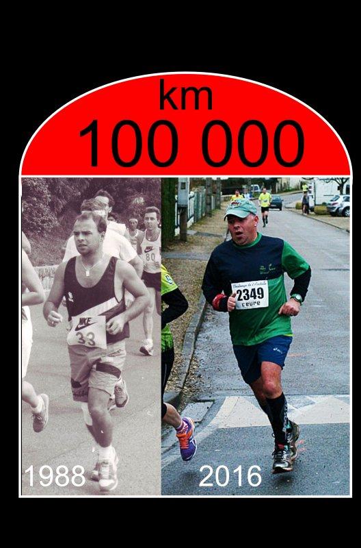 100 000 kilomètres depuis 1988 ...