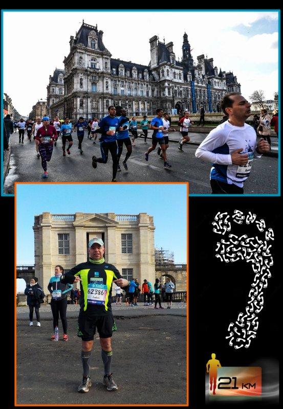 Semi-Marathon de Paris 2016  : épisode 1