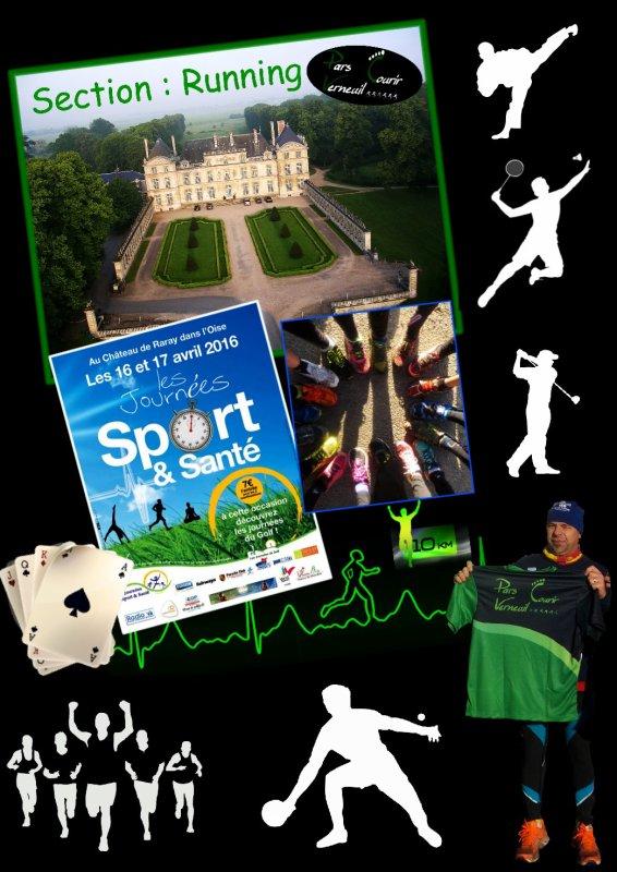 Journée Sport et santé au Château de Raray 2016 ..1..