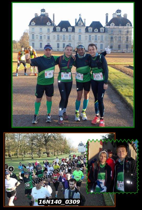Marathon de Cheverny 2016 ...La course : km 0 à 20 ...