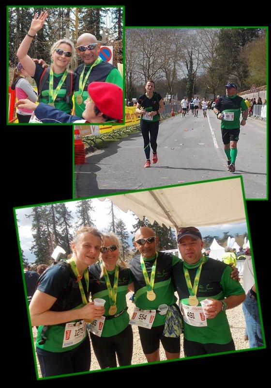 Marathon de Cheverny 2016 ...La course : km 21 à 42, 195 ...