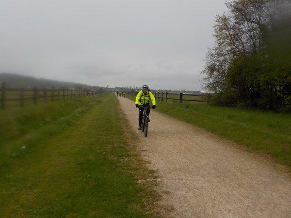 Halatte et la Haute Pommeraie en bicyclette …