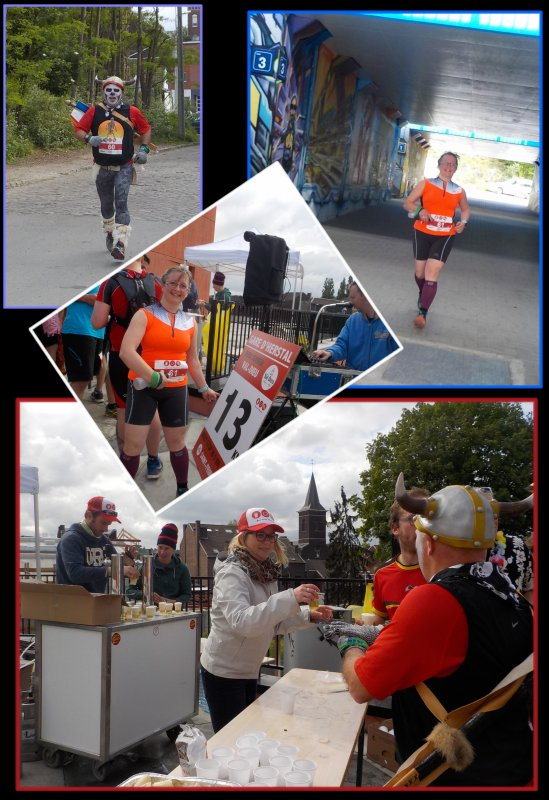 Beer Lover's Marathon de Liège 2016 : la course km 8 à 23.