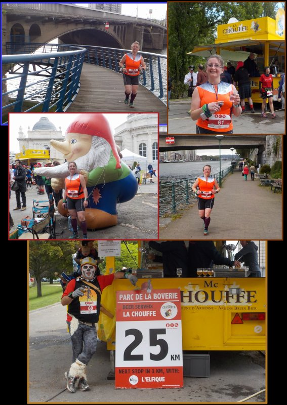 Beer Lover's Marathon de Liège 2016 : la course km 24 à 37