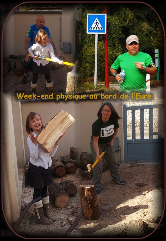 Week-end physique au bord de l'Eure,