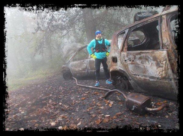Cimetière de voitures au Mont Pagnotte ....