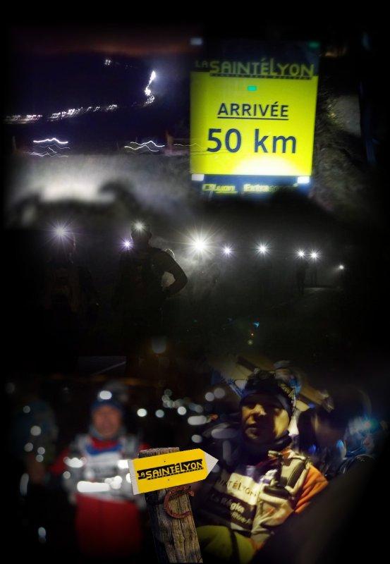 La Saintélyon 2016 ... 72 km ...épisode 3