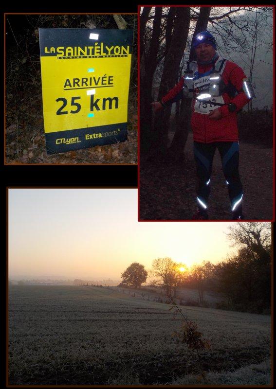 La Saintélyon 2016 ... 72 km ...épisode 4