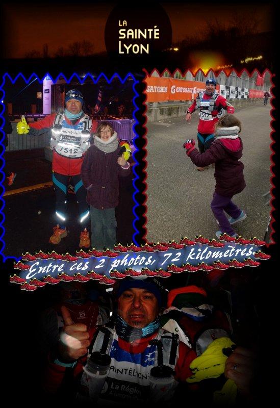 La Saintélyon 2016 ... 72 km ...épisode 6
