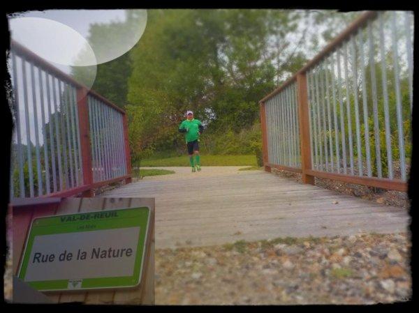 Val-de-Reuil : la voie Verte : le début