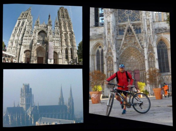 Le samedi au soleil à Rouen.