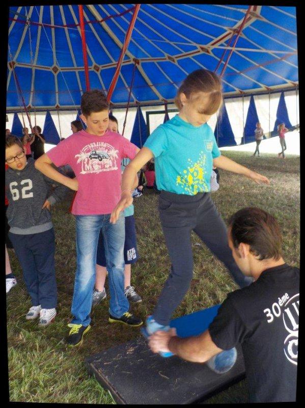 Journée cirque au Vaudreuil ...