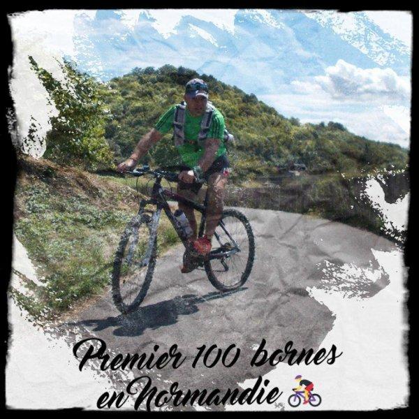 Premier 100 bornes en Normandie ...