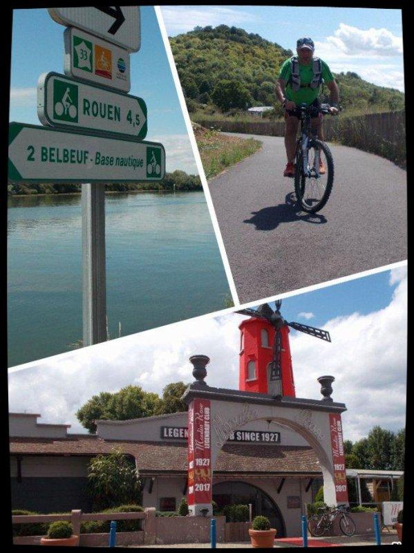 Premier 100 bornes en Normandie ... Suite...
