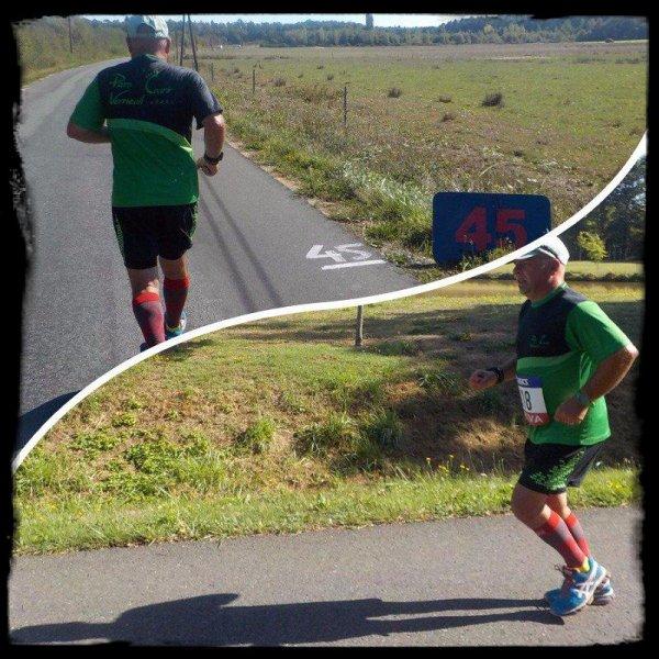 100 km de Sologne 2015  : km 41 au km 59 ...