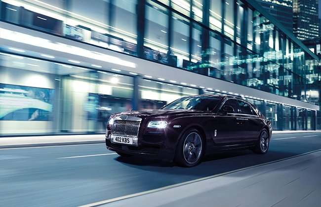 Rolls-Royce launches the Ghost V-Specification